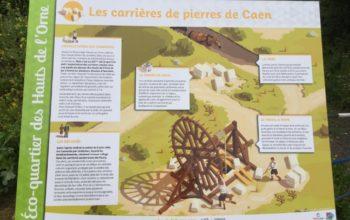 Comblement d'une carrière - Fleury-sur-Orne (14), Calvados