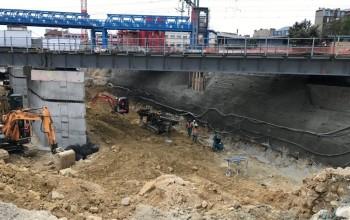 Paroi Clouée SNCF en sous-oeuvre - Clamart (92) - Île-de-France