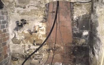 Fontis dans une cave parisienne - Paris (75) - Ile-de-France