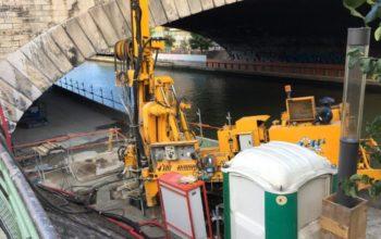 EOLE – Pont-Rail Canal St-Denis - PARIS XIX