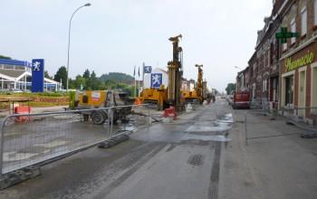 Amélioration de sols par comblement - Anzin (59), Nord-Pas-de-Calais
