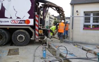 Amélioration de sols en agglomération rennaise - RENNES (35) - Bretagne