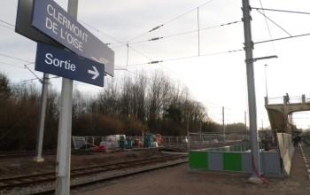 Micropieu SNCF PMR - Clermont de l'Oise (95), Région Parisienne