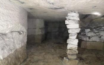 Injection des carrières  de calcaire - Méry-sur-Oise (95) - Région Parisienne